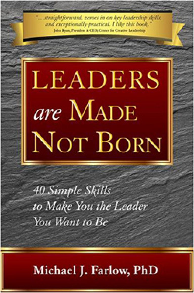 leaders are born not made Guest post by allen kors while some may be born with an innate knack for great leadership skills like confidence, communication, and creativity, i'd like to argue.